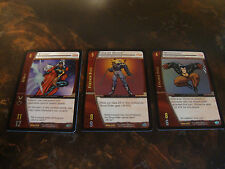 VS System--Marvel Origins--MOR--Foil Rares--Lot Of 3-Storm-Ghost Rider-Wolverine