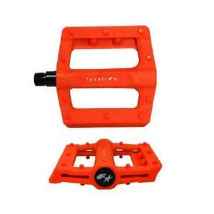 Fyxation Gates Slim Pedals City Bike Fixed Gear Track Plastic Pink Black Orange