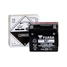 YTX5L-BS YUASA MOTORRAD-BATTERIE  YTX 5L-BS Motorradbatterie, 12Volt 4Ah