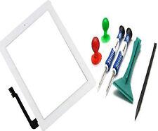 Ipad 3 III A1416 Lente de Cristal Digitalizador con Pantalla táctil + Botón de Inicio herramientas Blanco Reino Unido