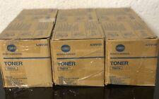 Lot Of 3! GENUINE KONICA MINOLTA TN014 BLACK TONER - A3VV130 OPEN BOX