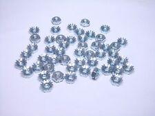 Lot of 50 Keps Nut External Tooth Lock Washer K-Lock 6-32 Steel Zinc NOS