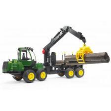 John Deere 1210e Rückezug mit Holzgreifer 02133 BRUDER ®