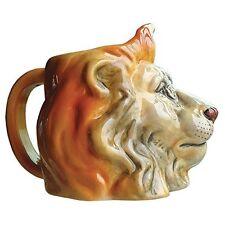 Westland Giftware Lion Head Ceramic Coffee Tea Mug Jungle Animal Safari 3D 16 oz