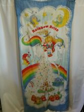 Vintage Twin Size Rainbow Brite Sleeping Bag 1983