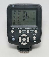 Yongnuo YN560-TX Manual Flash Controller Canon pins but seems to work on Nikon