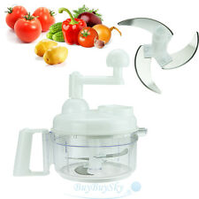 Hand Crank Innovative Multi-Function Food Vegetable Meat Swift Chopper Processor