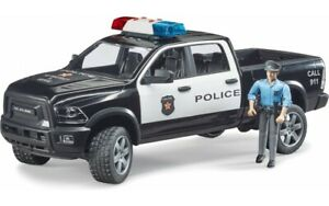 Dodge RAM 2500 Police Pick-up Truck with Cop Bruder Toy Car Model 1/16 1:16
