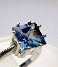 3.14+CT WOMAN S RING.RUSSIAN WELL TEST REAL LAB  ALEXANDRITE 100% COLOR CHANGE