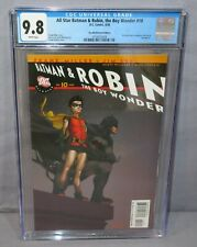 ALL STAR BATMAN & ROBIN, THE BOY WONDER #10 (Recalled Variant) CGC 9.8 DC 2008