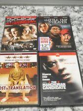 Lot of 4 Dvd's All kings men little trip heaven lost in translation sean penn