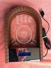 Miller Lite Beer Digital Clock Beer Light Sign