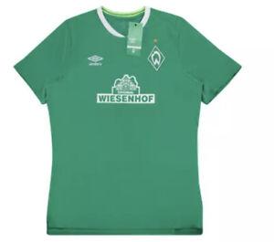 Umbro Men's Werder Bremen 2019 Soccer Jersey Sz. Small NEW UUM190608U