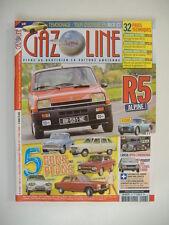 GAZOLINE n°217 RENAULT 5 ALPINE-FIAT 8V-PEUGEOT 504 2.0 CARBU-SIMCA ARONDE P60