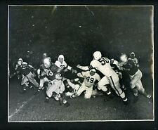 Baltimore Colts vs Cleveland Browns 1947 Press Photo Lloyd Reese Lou Saban