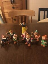 Disney- Snow White and 7 Dwarfs toys, Bullyland collection