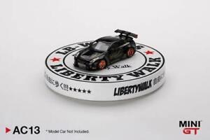 """Mini GT 5"""" Display Turntable Liberty Walk Type A"""