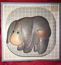 Vintage Miller Wall Plaque Donkey Eeyore New In Box Rare