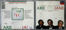 PAVAROTTI/NUCCI/DI STEFANO - ARIE ITALIANE - 1 CD n.1466