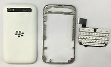 White Full Housing For Blackberry Q20 Door Cover/Frame/Keypad/Faceplate New