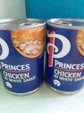 Princes Chicken in White Sauce. Tin food, Larder, Pie Filling.