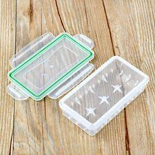 Plastic Hard Waterproof Battery Holder Storage Box Case for 18650/18350 Battery