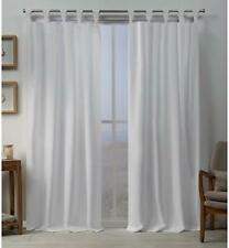 "New ListingExclusive Home Window Curtains/Drapes Loha Bt Panel Pair 54"" x 84"" Winter White"