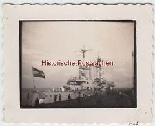 (F7970) Orig. Foto Militär-Schiff in Cuxhaven 1932