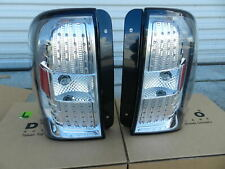 Tail Light Lamps  2002 - 2009 Chevy Trailblazer Euro LED Black Performance Set