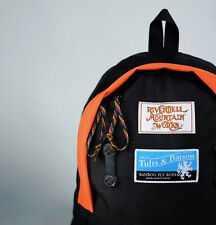 New Rivendell Lupine Backpack Daypack Black Orange