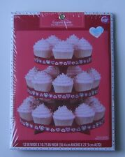Wilton Cupcake Stand Valentines Day 3 Tier 12 x 10.75 #1512-158 Table Decor