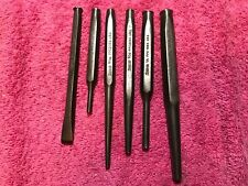 Snap on punch and chisel lot 6 pc. XXXX