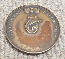 Vintage 1958 Royal Ocean Racing Club Medallón/medalla-Yate De Vela