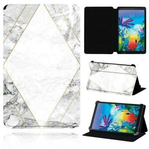 """Leather Smart Stand Case cover For LG G Pad 8.3"""" V500 / G Pad 5 10.1 FHD + pen"""