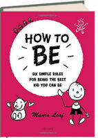 How to Be Six Simple Rules...Best You Can Be Munro Leaf (Hardcover)FREE ship $35