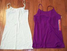 Lots of 2 Pcs Women's Tunic Cami XS & L, NWT