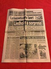 GAZZETTA DELLO SPORT 11-07-1983 luglio - ITALIA CAMPIONE 1982: UN ANNO DOPO