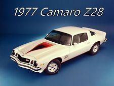 1977 Chevrolet CAMARO Z28, Refrigerator Magnet, 40 MIL