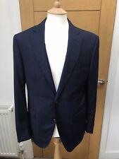 Pal Zileri Viaggiatore Blue Textured Blazer 38 BNWT