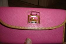 """DOONEY & BOURKE """"PINK"""" LEATHER WALLET-NEW WITH TAGS!!"""