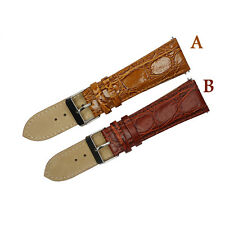 Genuine Leather Watch Strap Band 24mm 20mm 18 16 14 12mm Stainless Steel Buckle