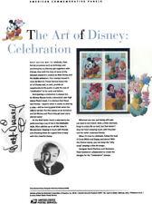 #739 The Art of Disney: Celebration #3912-3915 USPS Commemorative Stamp Panel