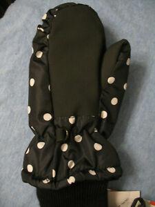 NWT Toddler Girls 3M Thinsulate Water Resist Winter Mitten Glove Cat & Jack 2-5T