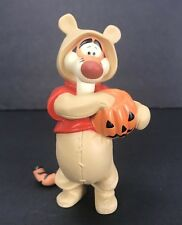 Disney Pooh & Friends Tiger Boo Hoo Hoo Figurine Jack O Lantern Halloween