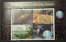 POLAND STAMPS MNH Fi4012-15 (1/2 bl156) Sc3762 Mi4162-65 - Earth, 2004, **