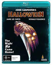 Halloween (Blu-ray) John Carpenter Jamie Lee Curtis [Region B] NEW/SEALED