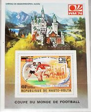 UPPER VOLTA OBERVOLTA 1974 Block 27 S/S C195 Soccer World Cup Neuschwanstein MNH