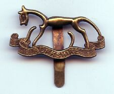 Berkshire Yeomanry Brass  Cap Badge