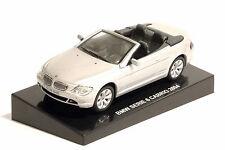 BMW SERIE 6 645 Ci CABRIO 2004 - SCALA 1:43 ARGENTO