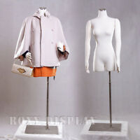 Female Mannequin Manequin Manikin with Flexible Arms Dress Form #F01Sarm+BS-05